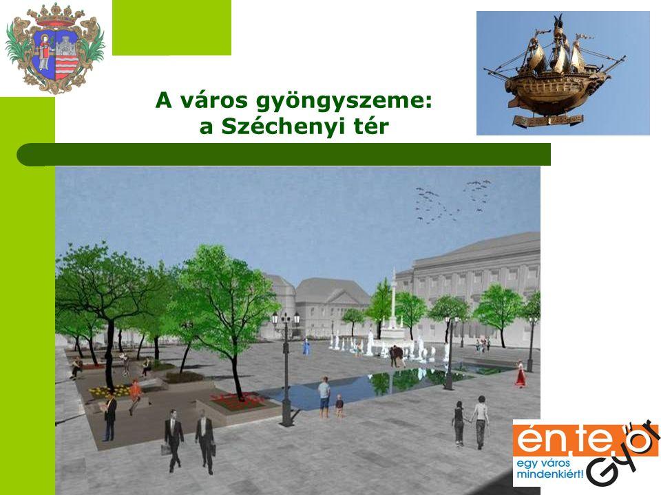 A város gyöngyszeme: a Széchenyi tér