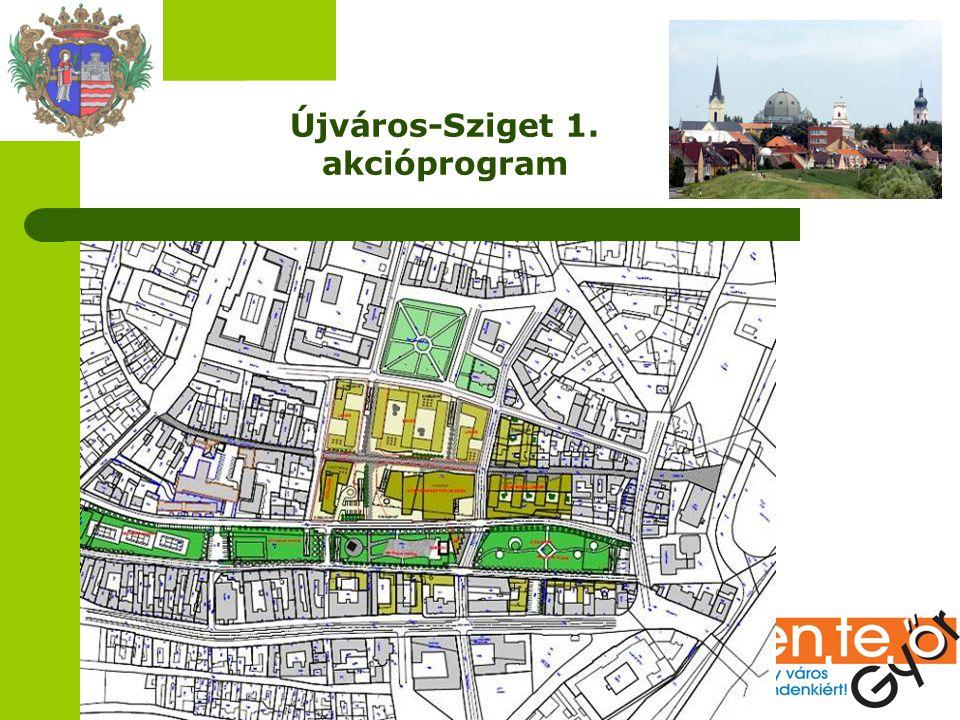 Újváros-Sziget 1. akcióprogram