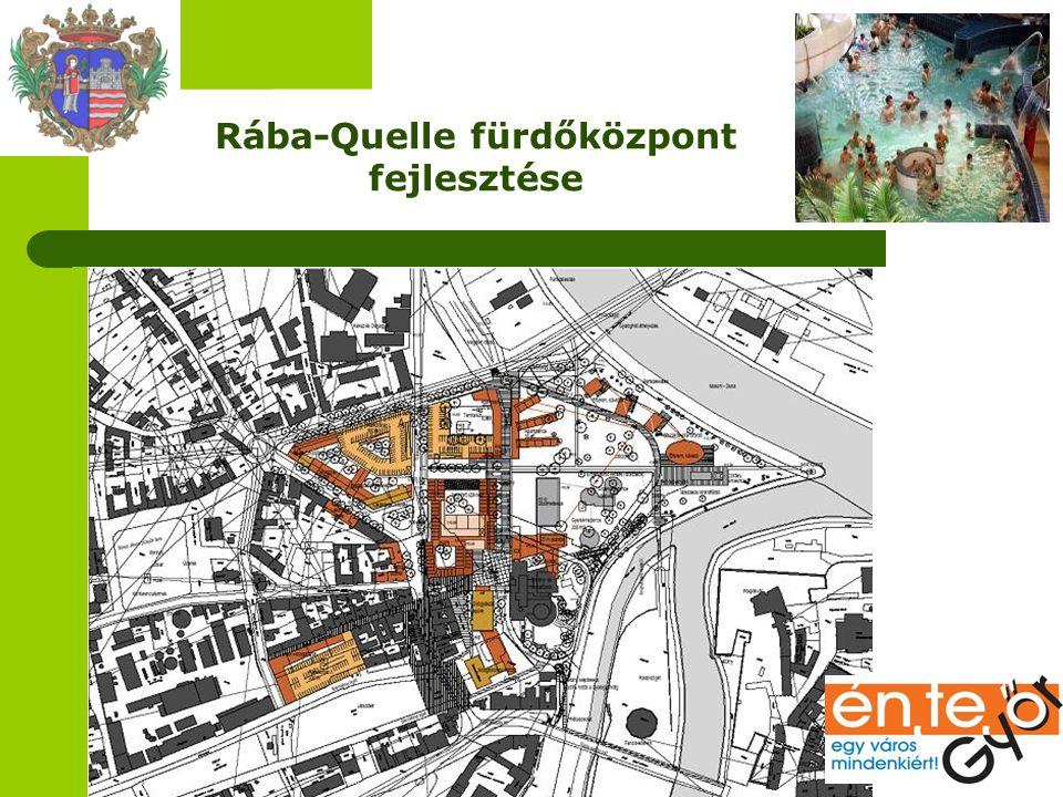 Rába-Quelle fürdőközpont fejlesztése