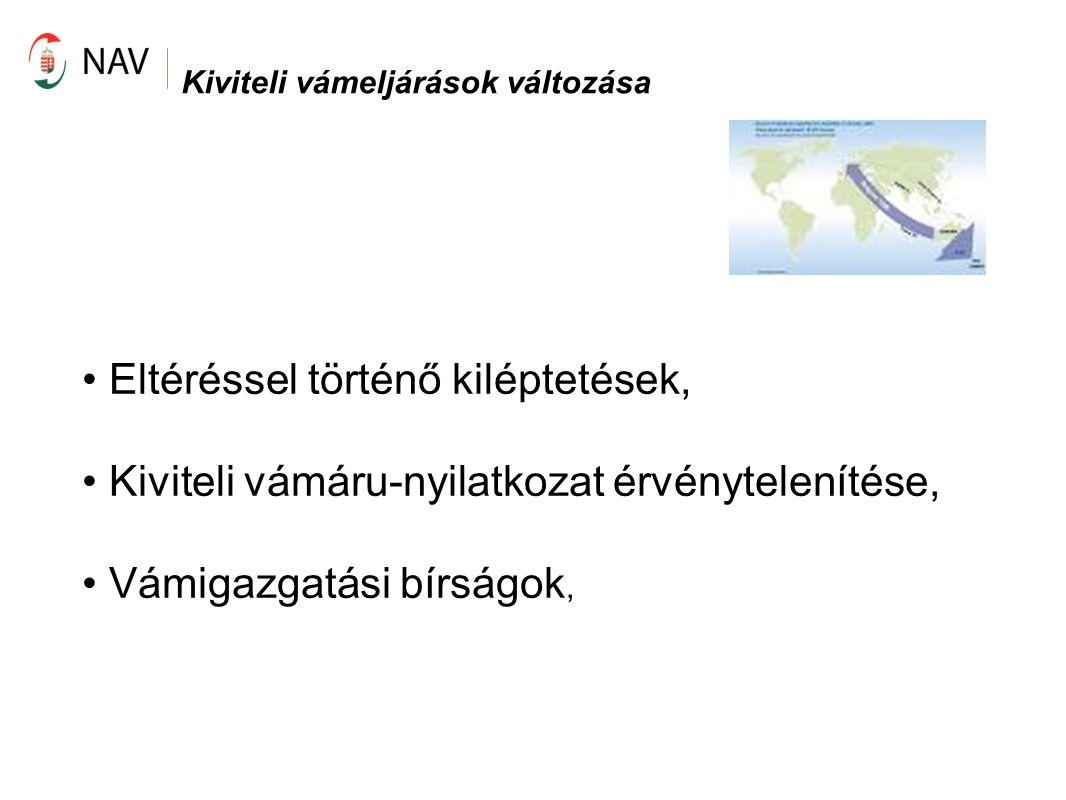 Az EBEJ Pilot II.Résztvevők: Vámhivatalok: Dél-budapesti VPI Pest megyei VPI 1.