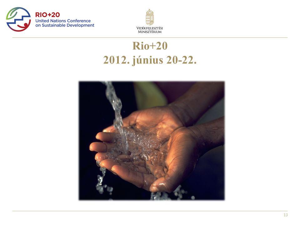 13 Rio+20 2012. június 20-22.