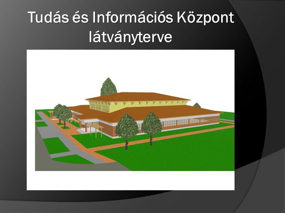 Tudás és Információs Központ látványterve