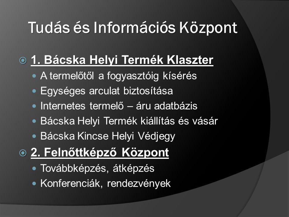 Tudás és Információs Központ  1.