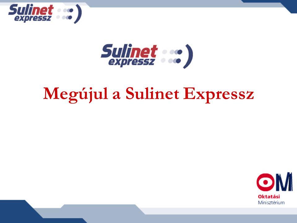Megújul a Sulinet Expressz