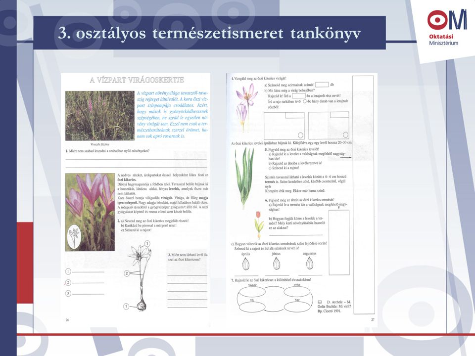 3. osztályos természetismeret tankönyv