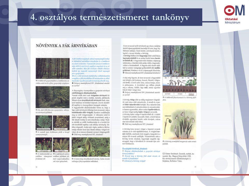 4. osztályos természetismeret tankönyv