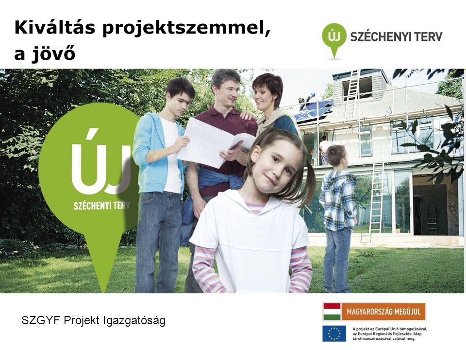 Kiváltás projektszemmel, a jövő SZGYF Projekt Igazgatóság