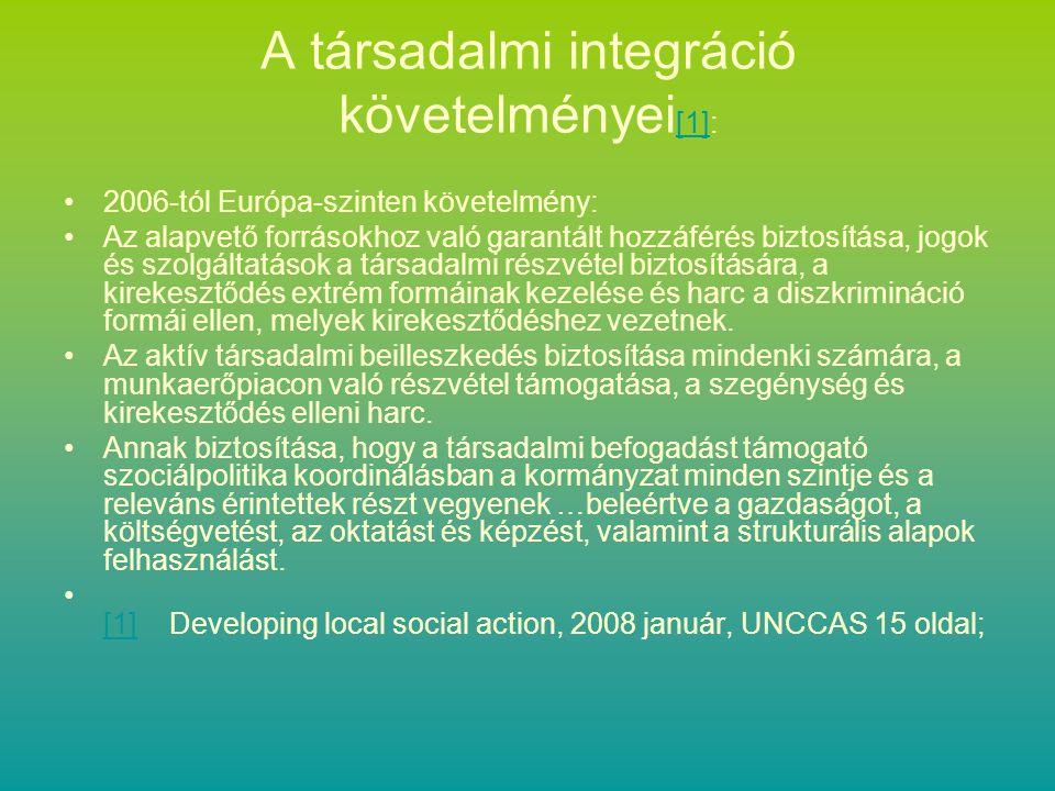 Társadalmi problémák megoldási alternatívái Az egyén szintjén Együttműködésben –Csoportok –Szervezetek Közösség-alapú megközelítésben A fenti módok ritkán találhatók meg tiszta formában, izoláltan.