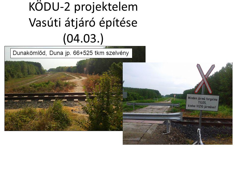 KÖDU-2 projektelem Kutyatanyai-zsilip ellennyomó medence építése Sió-csatorna bp.