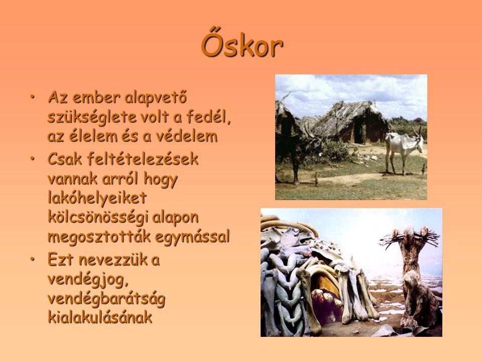 Ókor A görögök hadjárataik során óriási távolságokat tettek meg, az élelem, a ruházat, és a fegyver utánpótlásáról a kereskedők gondoskodtak,ezért a kereskedelem ösztönzőleg hatott a fogadók,kocsmák létrejöttéreA görögök hadjárataik során óriási távolságokat tettek meg, az élelem, a ruházat, és a fegyver utánpótlásáról a kereskedők gondoskodtak,ezért a kereskedelem ösztönzőleg hatott a fogadók,kocsmák létrejöttére A kereszténység elterjedésével a vallási zarándokhelyek meglátogatása szükségessé tette az üzleti alapon működő fogadók létrehozását, melyek kereskedelmi jelleggel működtekA kereszténység elterjedésével a vallási zarándokhelyek meglátogatása szükségessé tette az üzleti alapon működő fogadók létrehozását, melyek kereskedelmi jelleggel működtek