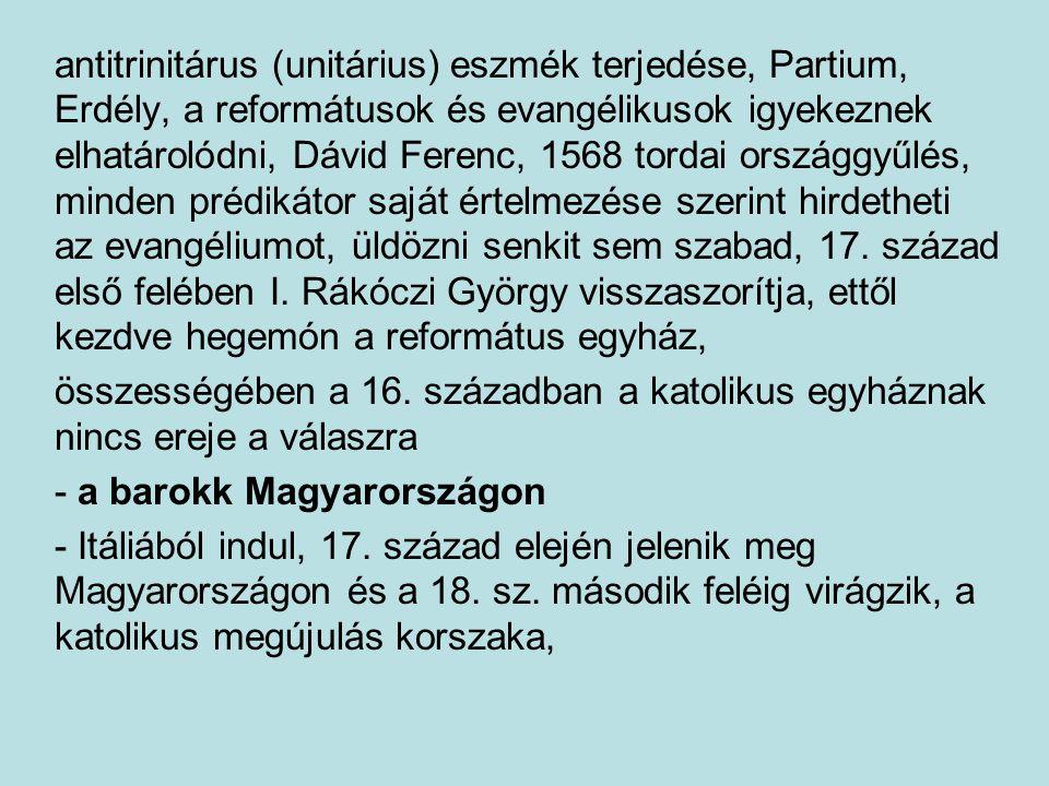 antitrinitárus (unitárius) eszmék terjedése, Partium, Erdély, a reformátusok és evangélikusok igyekeznek elhatárolódni, Dávid Ferenc, 1568 tordai orsz