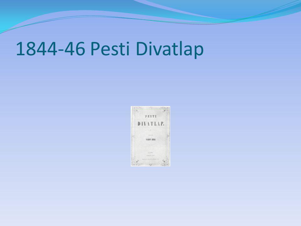 1844-46 Pesti Divatlap