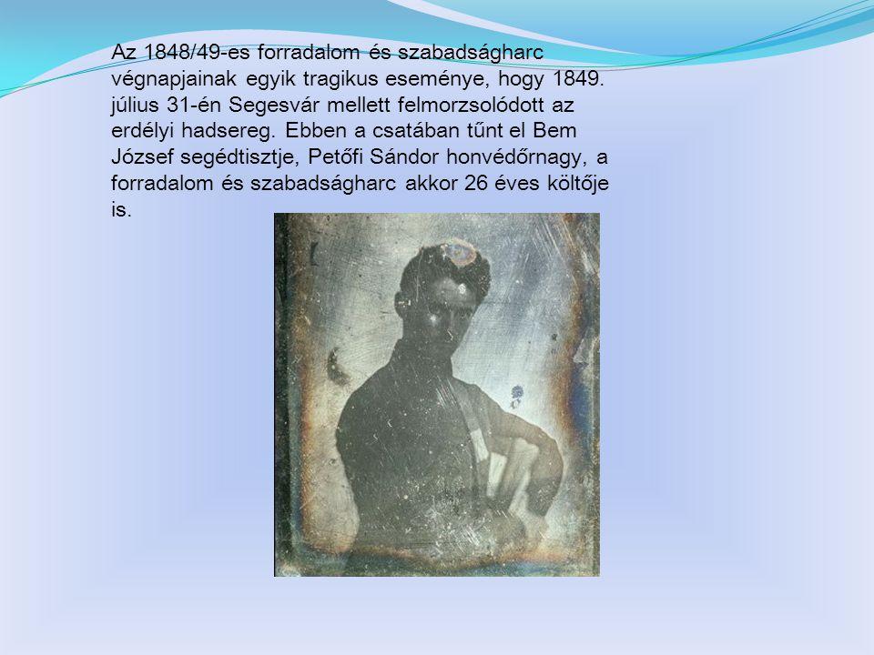 1843.Első kötetének kiadása: Versek 1845.