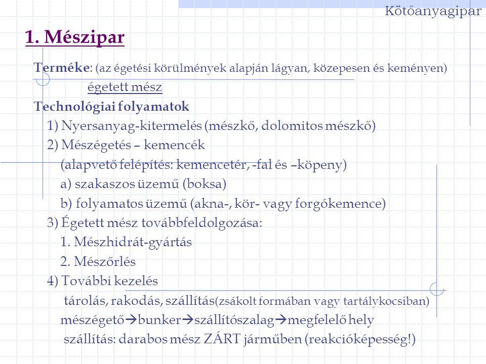 37 Finomkerámia-ipar Finomkerámia-ipar technológiai folyamatai III.
