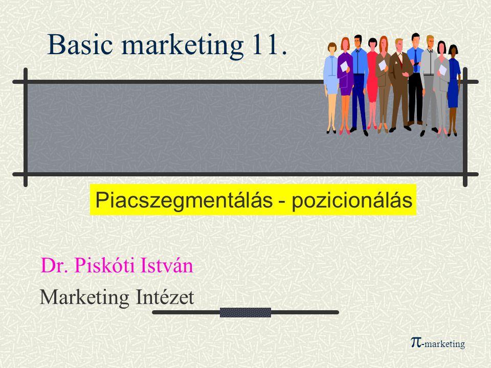 Basic marketing 11.Dr.