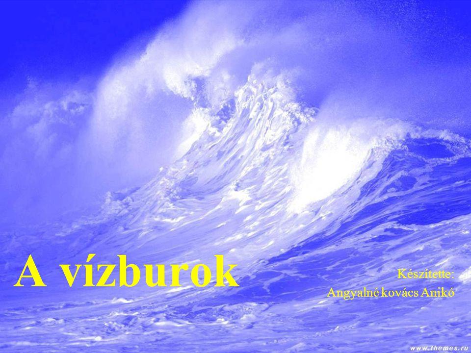 A vízburok Készítette: Angyalné kovács Anikó