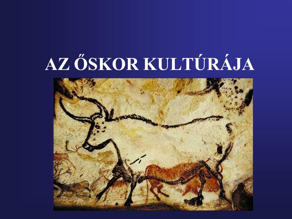 Őskor- Történelem előtti kor Az emberiség fejlődéstörténetének az a korszaka, melyből írott emlékek nem maradtak ránk.