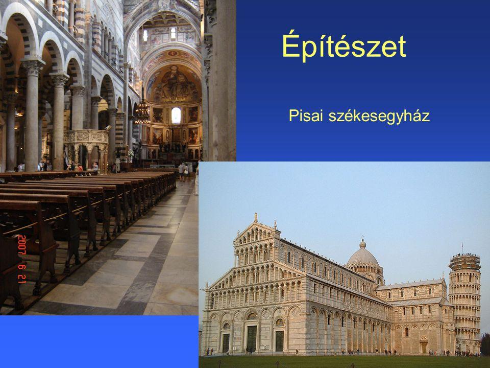 Építészet Pisai székesegyház