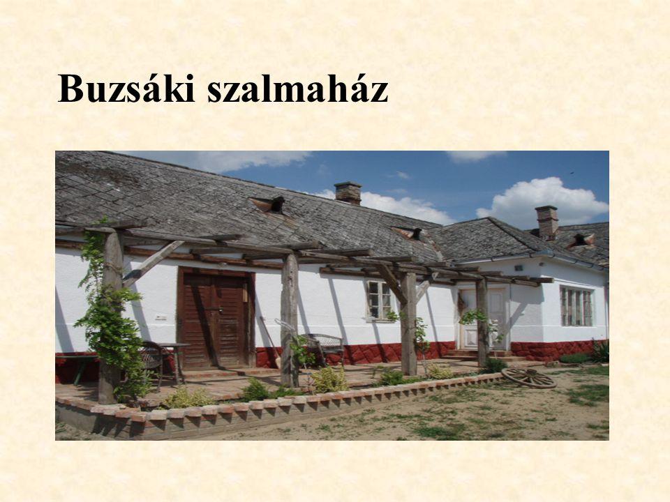 Buzsáki szalmaház