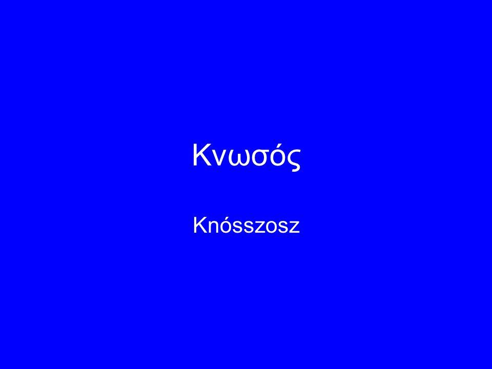 Kνωσός Knósszosz