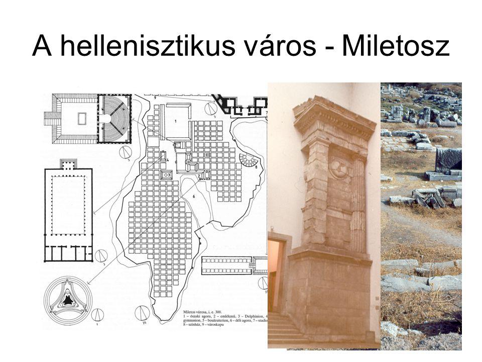 A hellén középület építészet Miletosz, Gymnasion Kr. e. 150