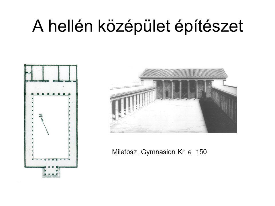 A hellén középület építészet Priéné, Ekklesiasterion – Kr. E. 200