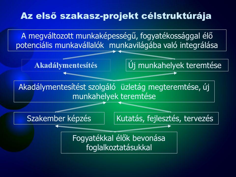 A projektek tartalmi folyamata 1. A projekt team tagjainak felkérése 2. A projekt team tagjainak megbízása 3. A projekt jövőképének megalkotása 4. A p