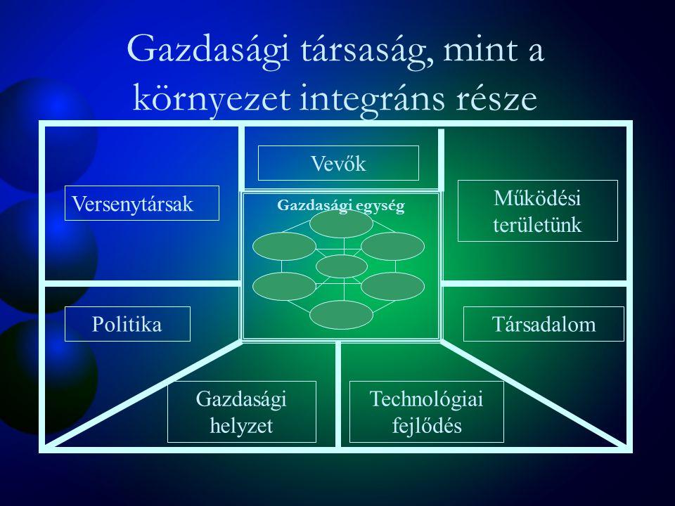 McKinsey-féle 7S modell Stratégia Szervezet Rendszerek Közös érdek MunkatársakStílus Készségek
