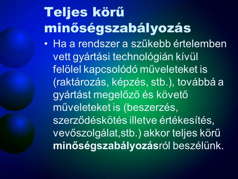 A munkavédelem fejlődési trendje MSZ EN ISO 14001 (Környezetközpontú irányítási rendszerek) MSZ EN ISO 9001:2001 (Minőségirányítási rendszerek) OHSAS 18001 (Foglalkozási egészség- és biztonságügyi igazgatási rendszerek)