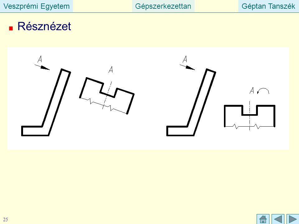 Veszprémi EgyetemGépszerkezettanGéptan TanszékVeszprémi EgyetemGéptan Tanszék 25 Résznézet
