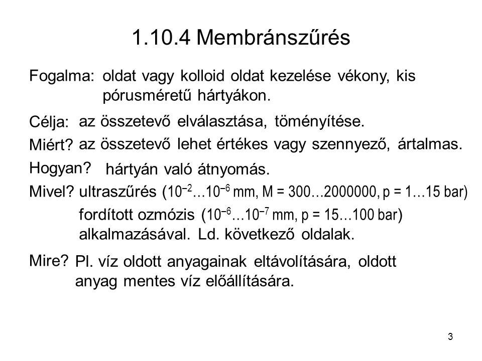 1.11.3.2 Redukció Néhány példa NO redukciója: 2 NO + 4 H 2 → N 2 + 2 H 2 O 6 NO + 4 NH 3 → 5 N 2 + 6 H 2 O* 2 NO + 2 CO → CO 2 + N 2 * Oxigén-mentesítés: O 2 + N 2 H 4 → N 2 + 2 H 2 O Króm(VI) redukció: 2 Cr +6 + 3 SO 2 + 18 H 2 O → 2 Cr 3+ + 3 SO 4 2– + 12 H 3 O + 14