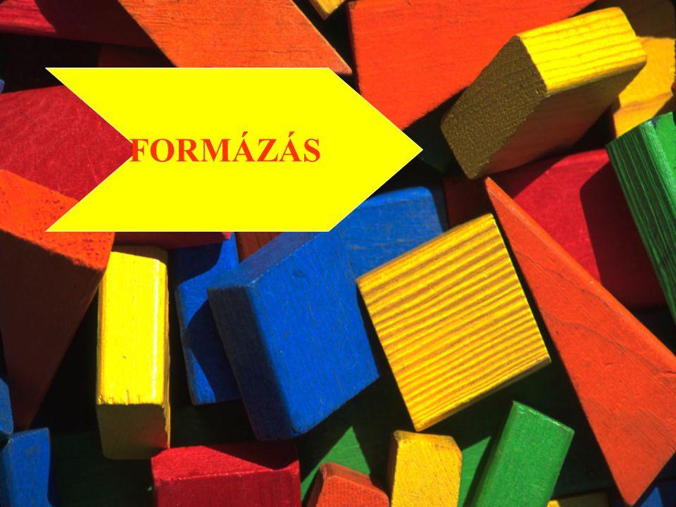 FORMÁZÁS