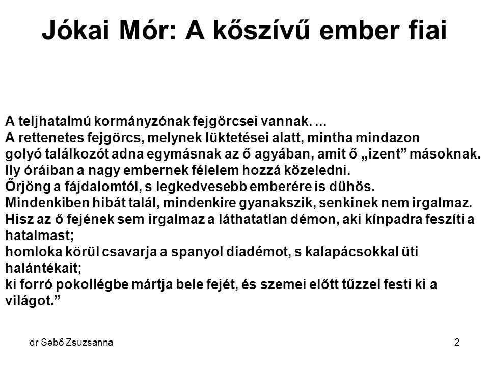"""dr Sebő Zsuzsanna3 Fejfájás : Migrén: Felnőtt lakosság 20%-a Gyermekek 7% Alkalmi- még több """"Jött, látott és győzött - Julius Cézár Sigmund Freud"""