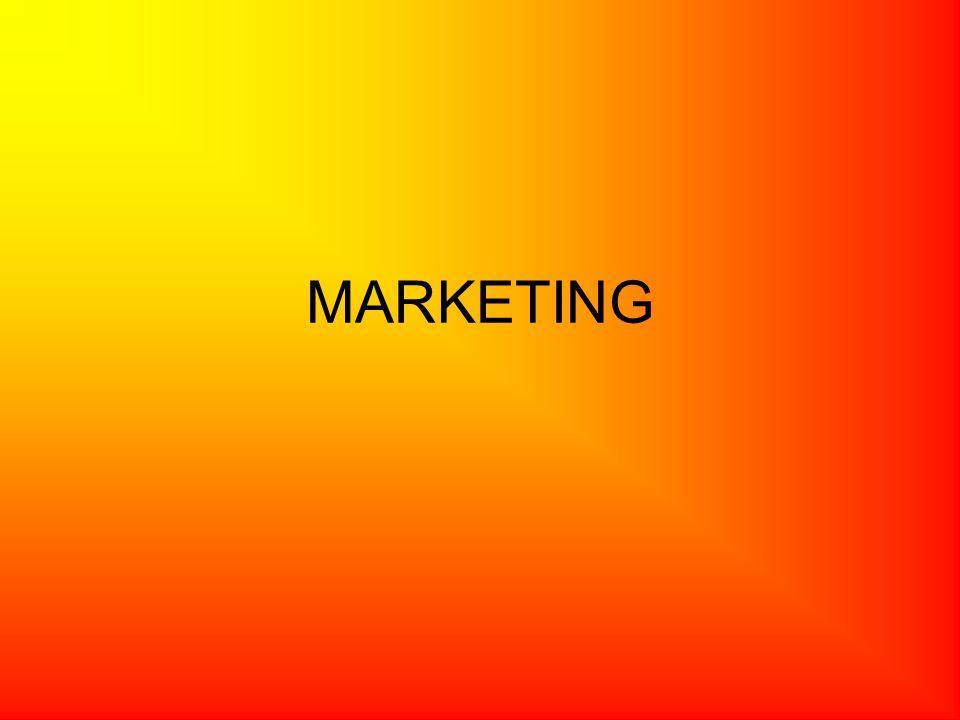 A marketing fogalma szűkebb értelemben: Olyan vállalati tevékenység, amely a vevők/felhasználók igényeinek kielégítése érdekében elemzi a piacot, meghatározza az eladni kívánt termékeket és szolgáltatásokat, megismerteti azokat a fogyasztókkal, kialakítja az árakat, megszervezi az értékesítést és befolyásolja a vásárlókat.