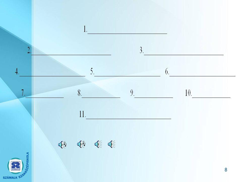 38 A közvetett kommunikáció formái A telefon használata.