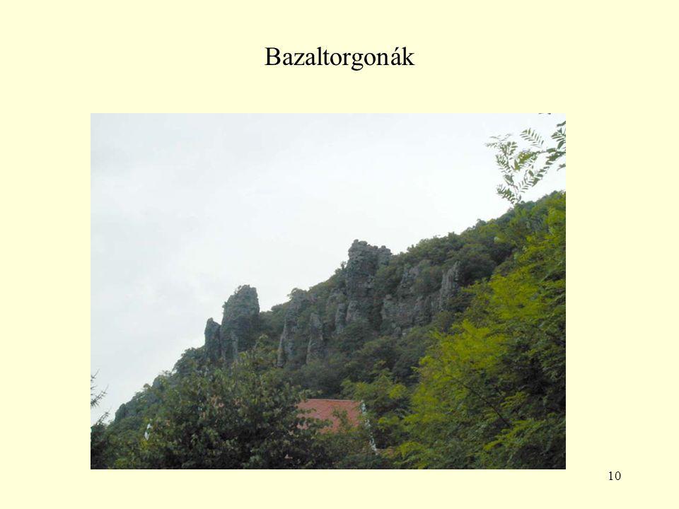 10 Bazaltorgonák