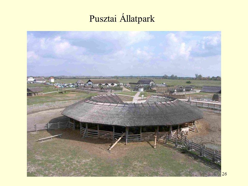 26 Pusztai Állatpark