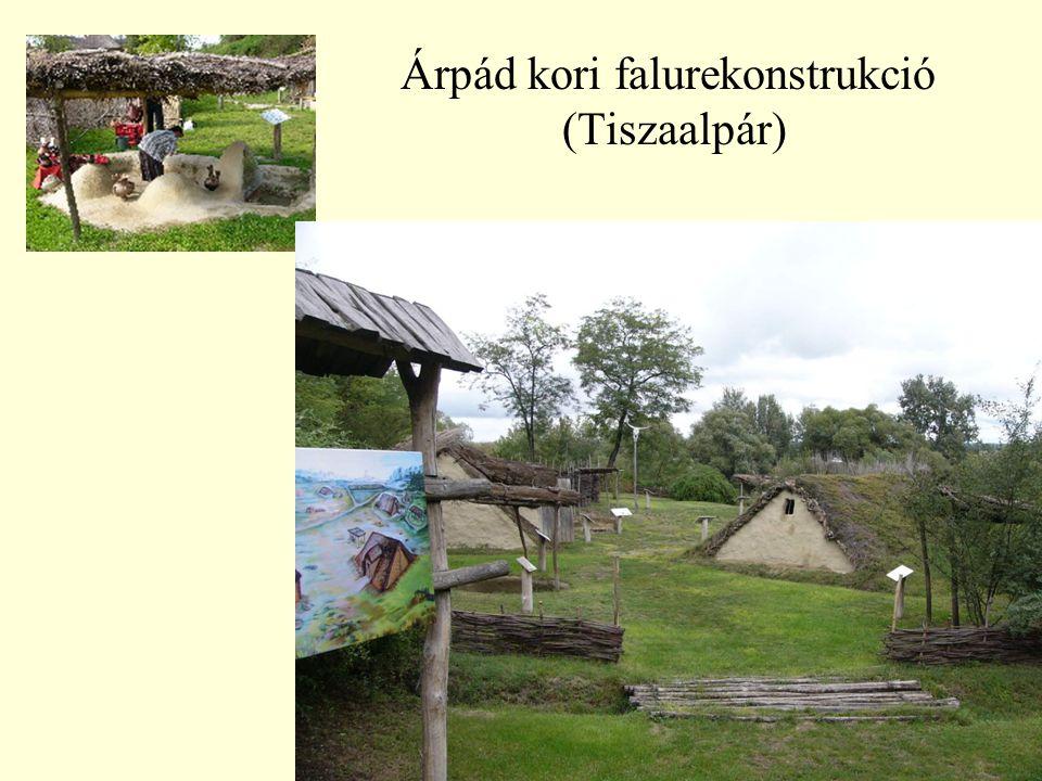 36 Árpád kori falurekonstrukció (Tiszaalpár)