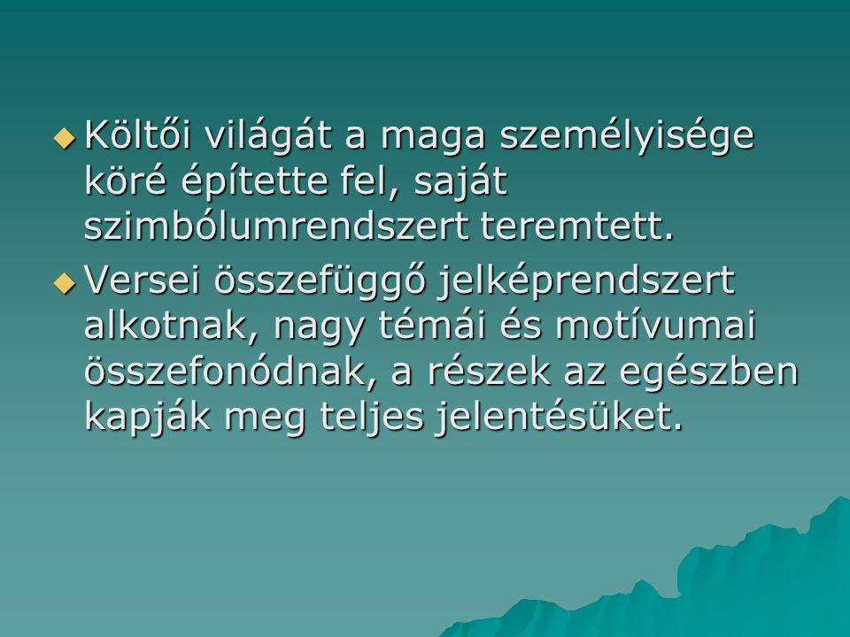 SZIMBOLISTA-SZECESSZIÓS LÁTÁSMÓD  Szimbolizmus: XIX.