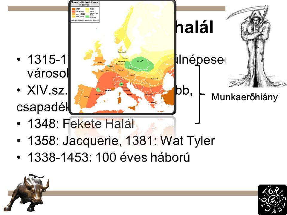 Ipari forradalom előtt XVIII.sz.