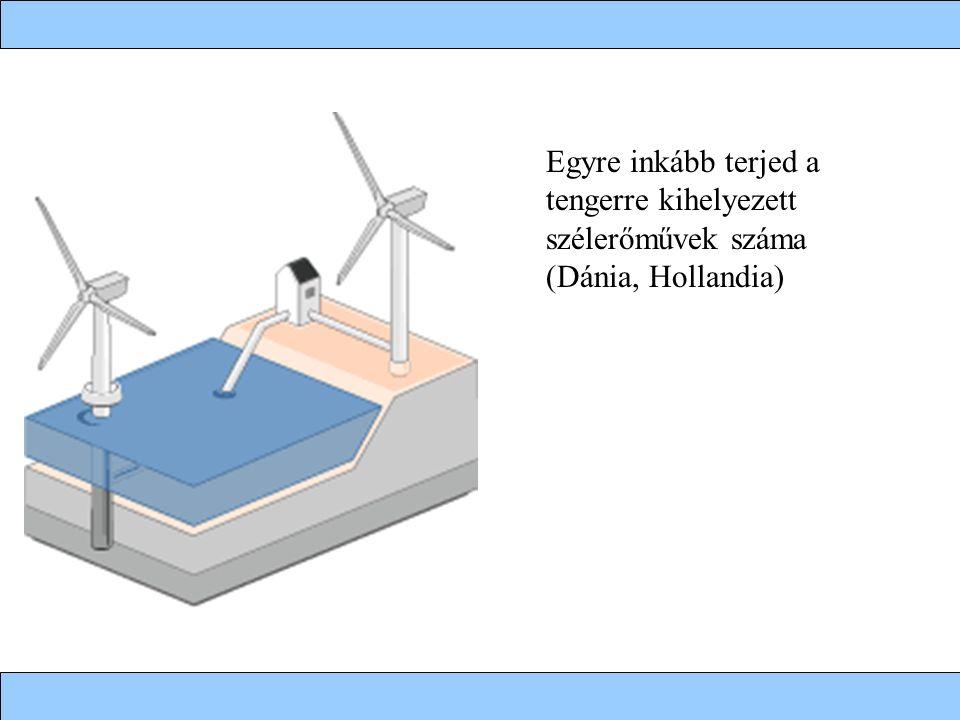 Egyre inkább terjed a tengerre kihelyezett szélerőművek száma (Dánia, Hollandia)