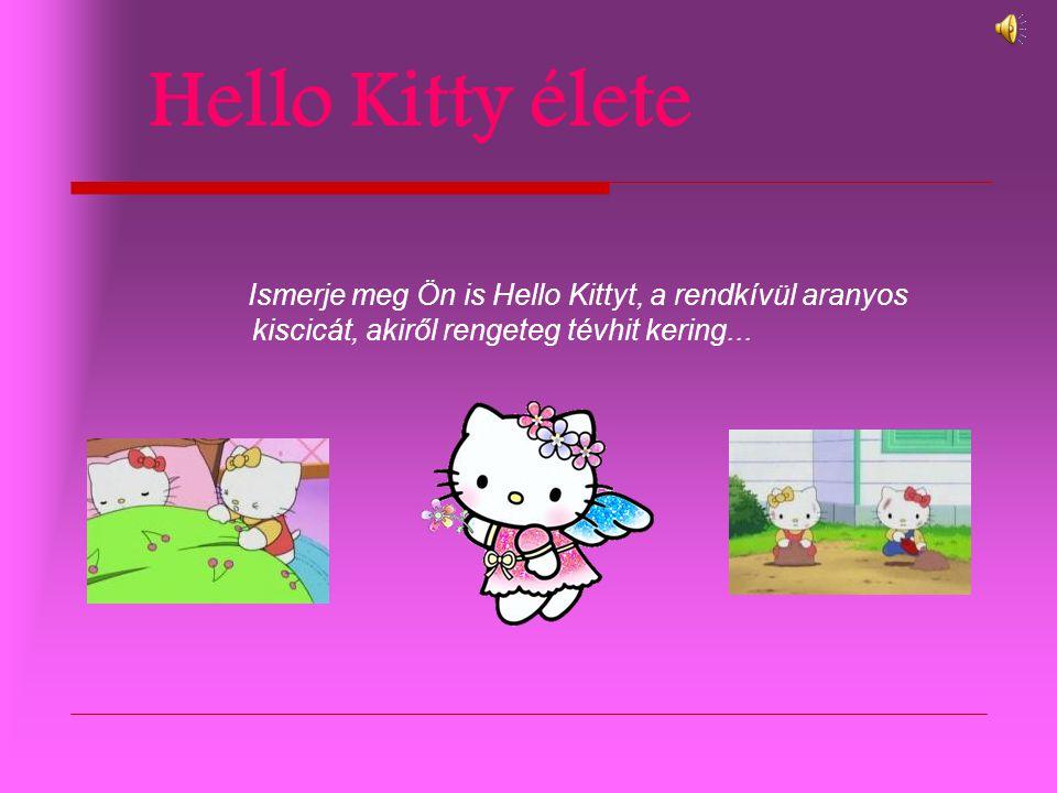 Hello Kitty élete Ismerje meg Ön is Hello Kittyt, a rendkívül aranyos kiscicát, akiről rengeteg tévhit kering...