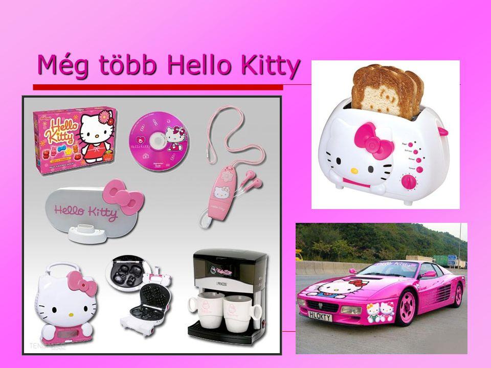 Még több Hello Kitty