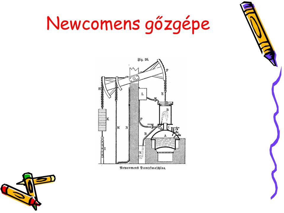 Newcomens gőzgépe