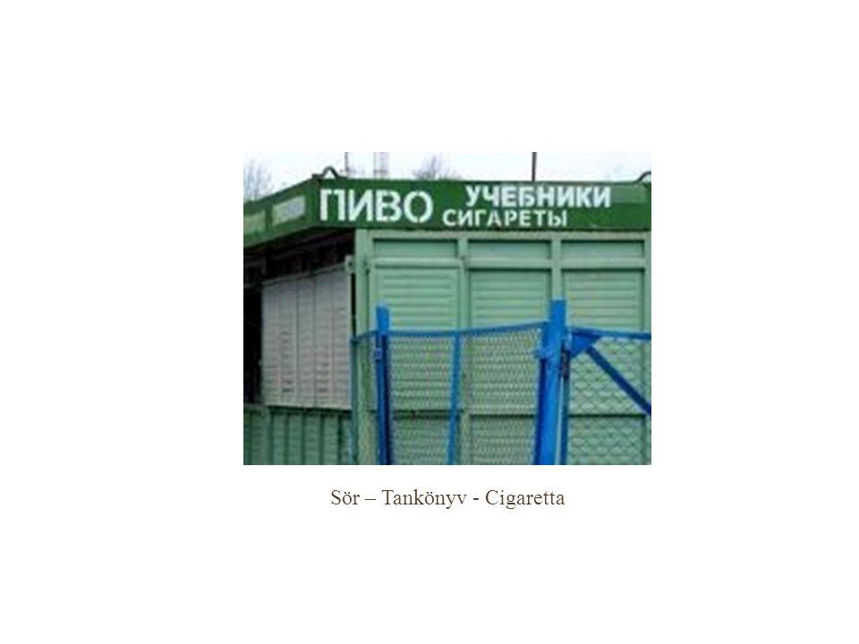 Sör – Tankönyv - Cigaretta