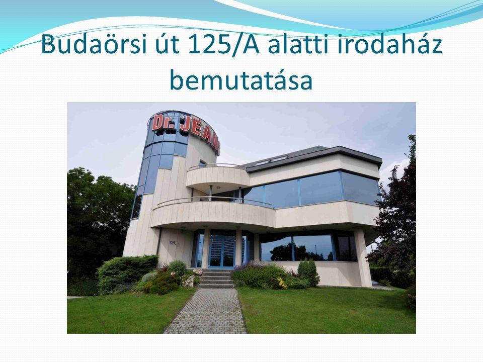 Budaörsi út 125/A alatti irodaház bemutatása