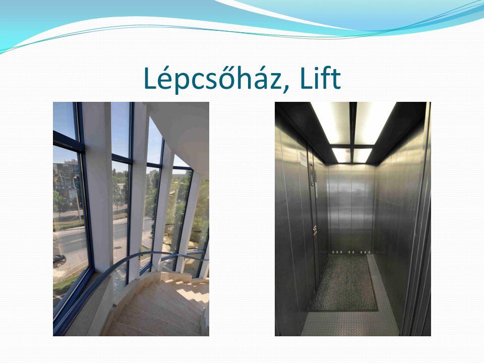 Lépcsőház, Lift