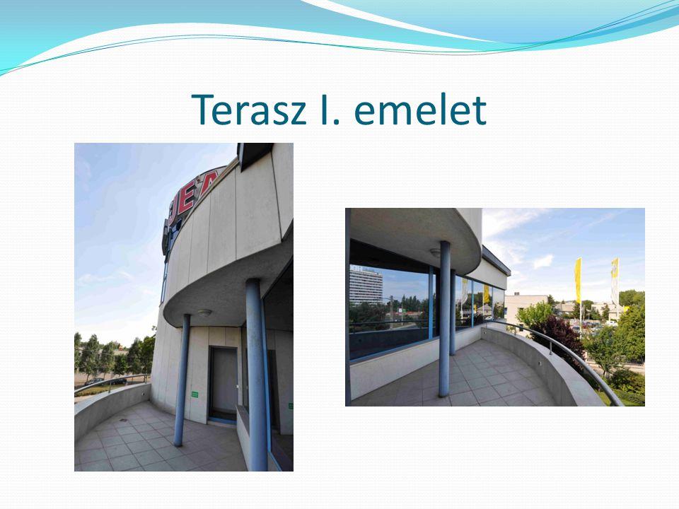 Terasz I. emelet