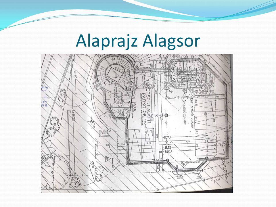 Alaprajz Alagsor