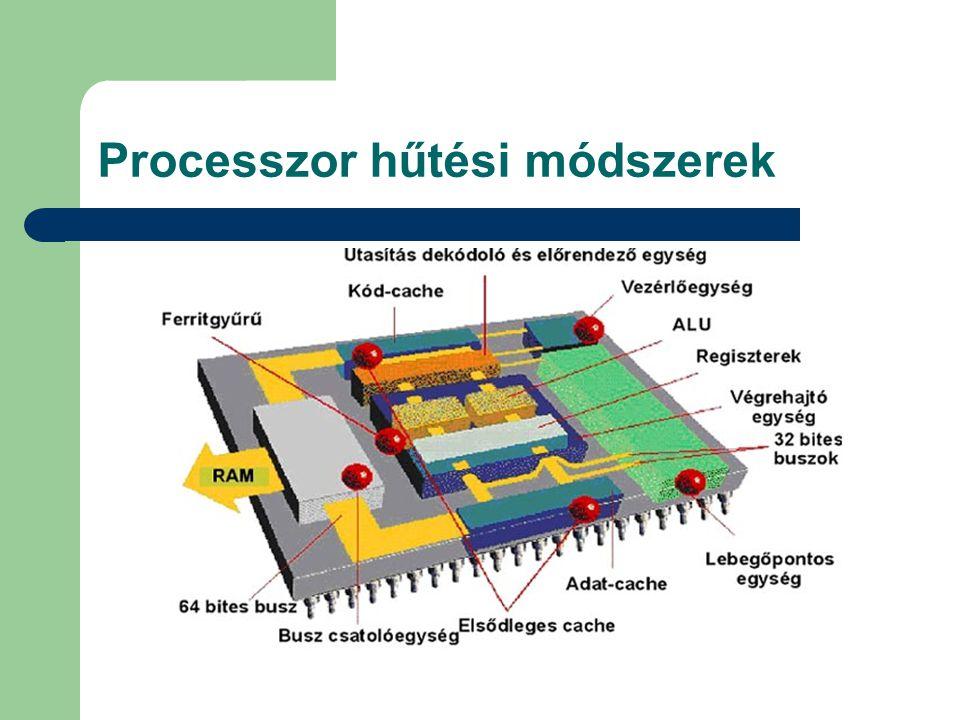 Processzor hűtési módszerek